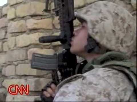 U.S Marines attack Fallujah - INTENSE Video Invasion by US Troops (Iraq)