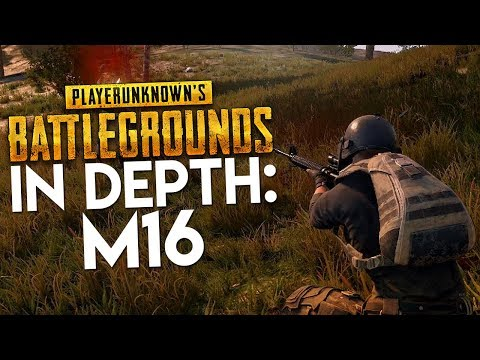 PUBG In Depth: M16A4 Assault Rifle