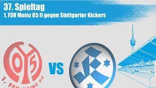 37. Spieltag, FSV Mainz 05 II vs Stuttgarter Kickers - Spielbericht