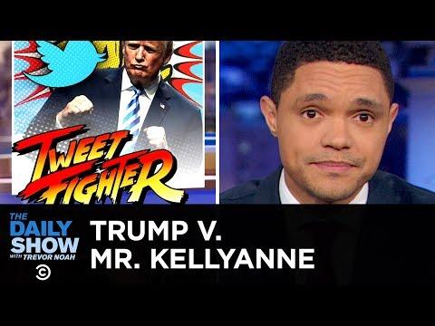 Смотреть Mr. Kellyanne vs. Mr. President: A Twitter Feud for the History Books | The Daily Show онлайн