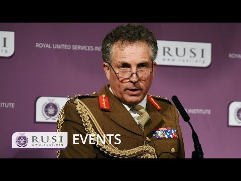 General Nick Carter: Dynamic Security Threats and the British Army