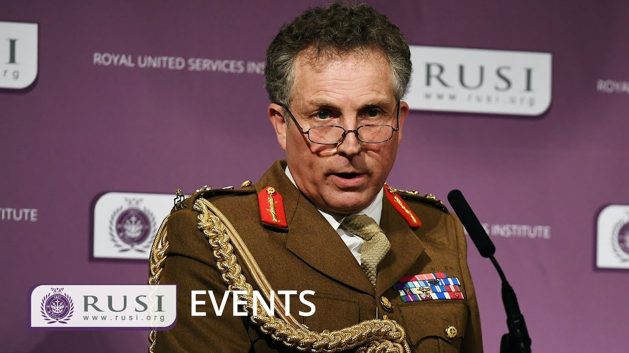 general nick carter dynamic security threats and the british army