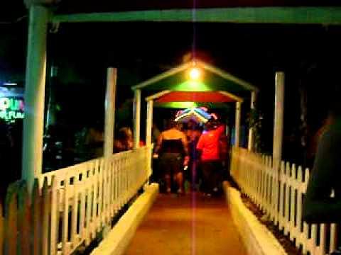 St. Lawrence Gap at night - Barbados