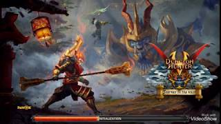 Dungeon Hunter 5 gameplay ON (IOS) part #1