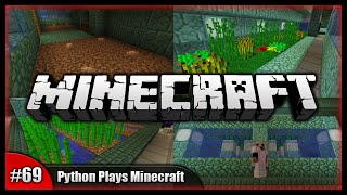 Python Plays Minecraft || The Auto Cactus Farm! Epic Nature Area! || Minecraft Survival PC [#69]
