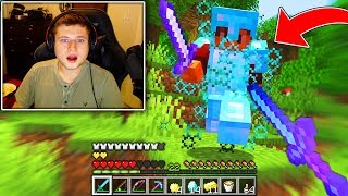 Minecraft but i win $7,000 from this guy..