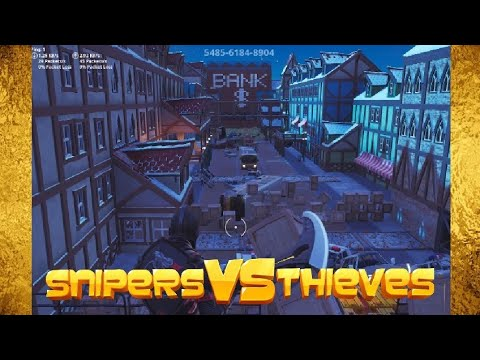 Snipers Vs Runners - New Fortnite Creative Map! (Code in description)