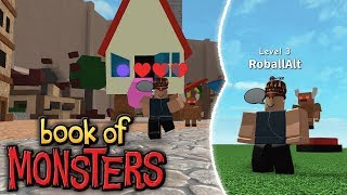 NEW Monster Fighting Game on Roblox! | Book of Monsters