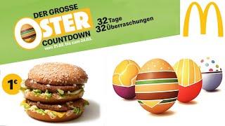 1€ Big Mac | 32 Tage Oster Countdown Angebots Kalender Bei Mcdonald's