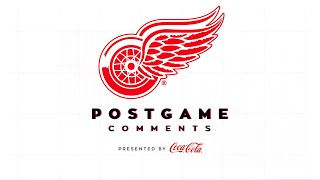 Detroit Red Wings Coca-Cola Post Game Comments  | 2/21 NYI