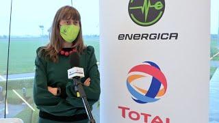 Inaugurazione colonnine elettriche Total Italia c/o Energica 11 maggio 2021