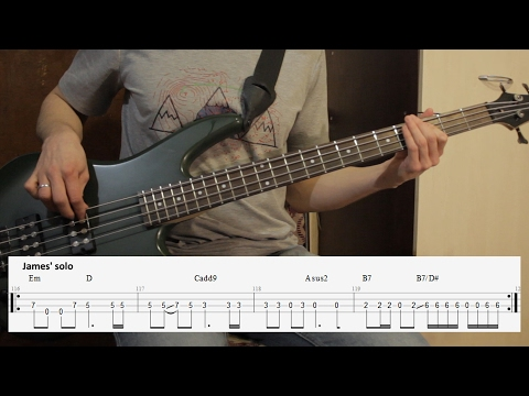 How to play Master of Puppets by Metallica bass lesson + bass tabs
