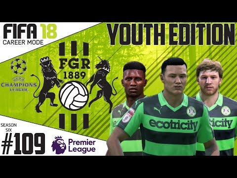 Fifa 18 Career Mode  - Youth Edition - Forest Green Rovers - EP 109