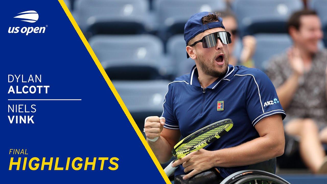 Wheelchair Quad Men's Final | Alcott vs Vink | 2021 US Open