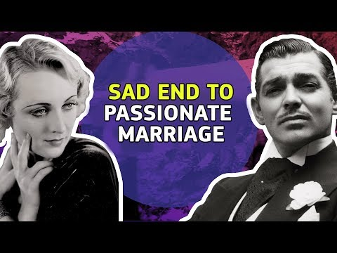 The Tragic Real-Life Story Of Clark Gable and Carole Lombard | ⭐OSSA