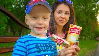 Челлендж: Определяем самое вкусное мороженое.