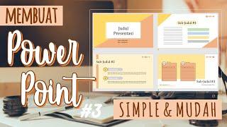 5 Tips Membuat Slide Presentasi Yang Baik Dan Menarik (Video Seri Tips Presentasi).