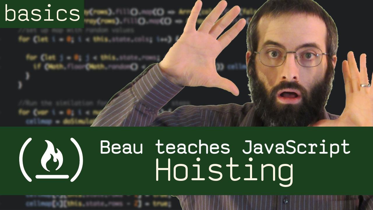 Hoisting - Beau teaches JavaScript