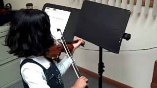 Ann Violin Performance