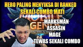 HERO PALING NGESELIN OVER BANGET DI RANKED MODE - Mobile Legend Bang Bang