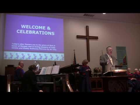 Asbury 2017Church member gives testimony of God's healing 2/29/2017