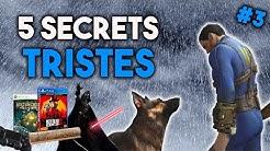 5 SECRETS LES PLUS TRISTES DU JEU VIDÉO #3