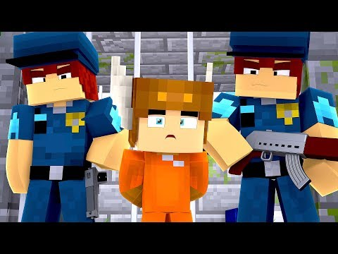 Minecraft Daycare - MOOSECRAFT GOES TO PRISON! (MINECRAFT ROLEPLAY)