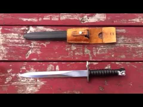 1957 Swiss Bayonet