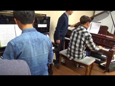 ColdPlay- Viva La Vida (arrangement by World-Class Artist JYLee) / 안형준(first) , 조인준 ( second)