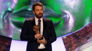 Ben Affleck wins Best Director Bafta - The British Academy Film Awards 2013 - BBC One