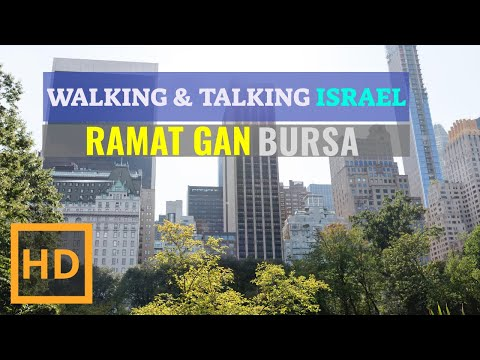 Walking In The Bursa TEL AVIV Israel TODAY Israel In Lockdown (COVID 2021)