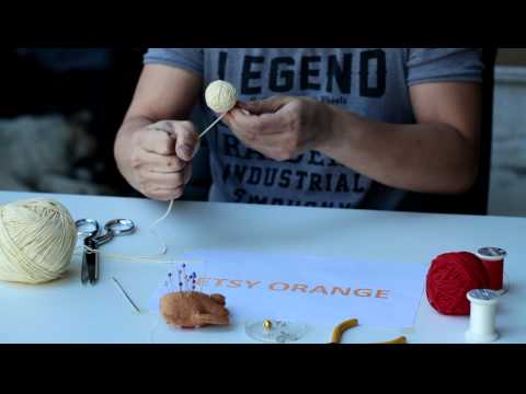 How To Make Voodoo Doll String Doll