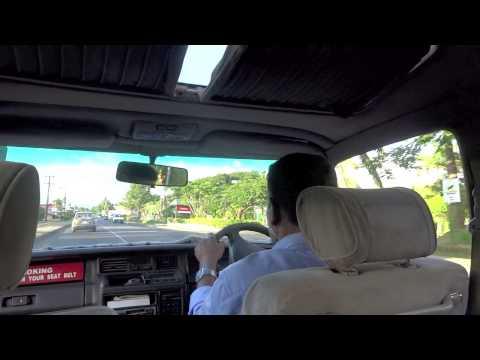 フィジーでタクシーに乗ってみた:Taxi in Fiji