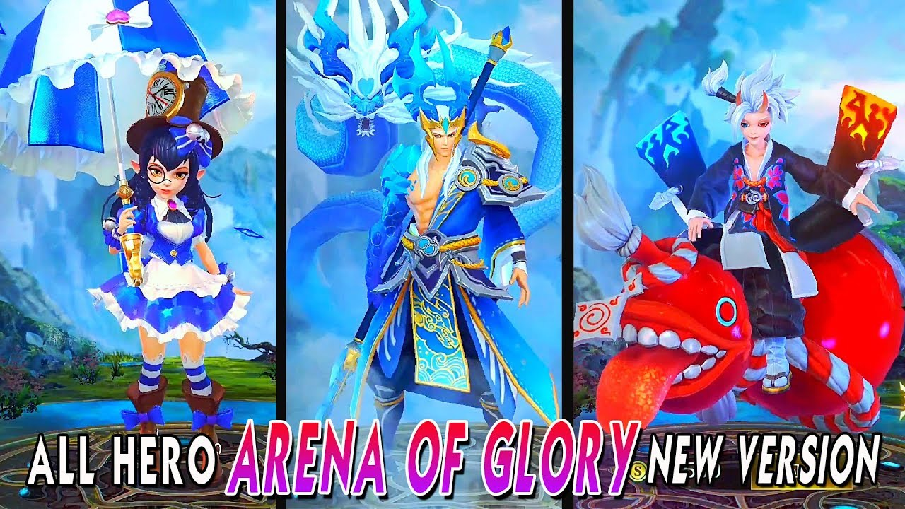 All Hero Legends Of Glory New Moba Version Android Ios