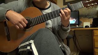 시대를 초월한 마음 - 이누야샤 OST. classical guitar solo.