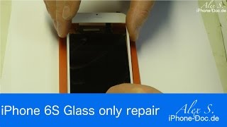 iphone 6s glass only screen repair glass polarizer replacement
