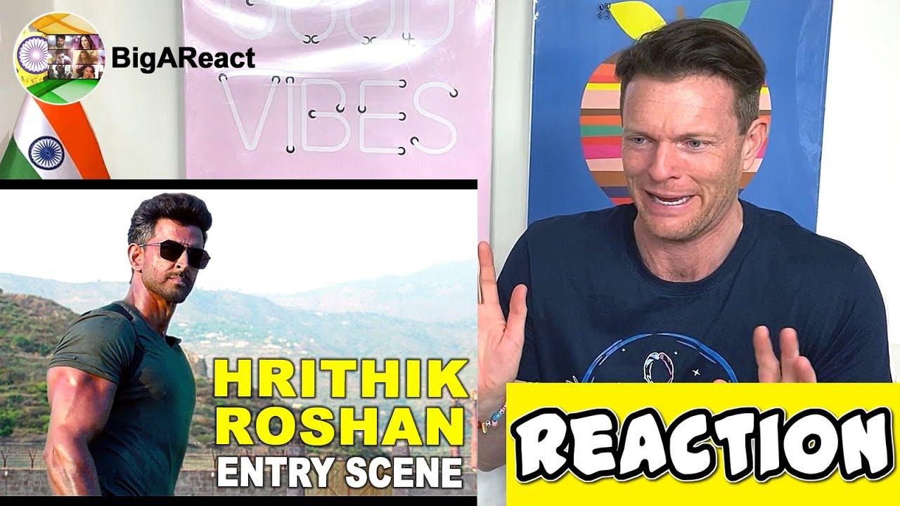 Download WAR HRITHIK ROSHAN ENTRY SCENE REACTION | Hrithik Roshan, Tiger Shroff | #BigAReact