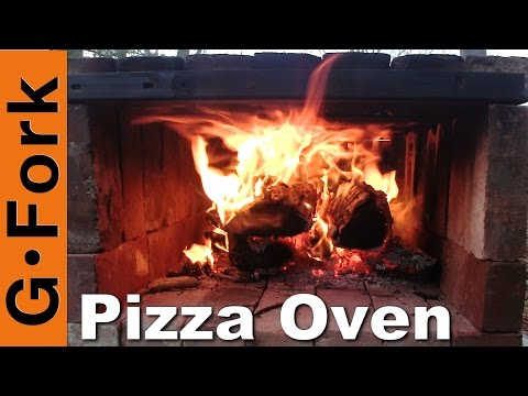 Simple Wood Fired Brick Pizza Oven - GardenFork