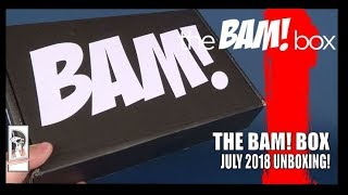 Subscription Spot | The Bam! Box July 2018 Subscription UNBOXING!