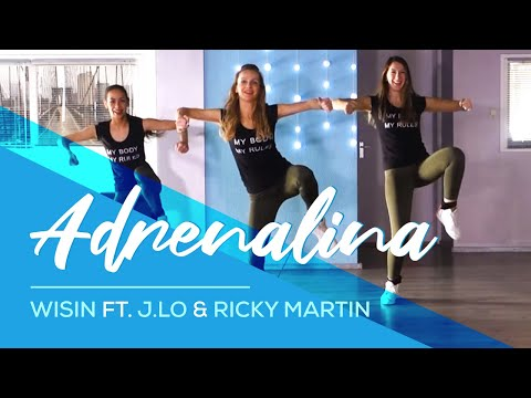 Adrenalina  Wisin  HipNThigh Booty & Legs WORKOUT  Dance  Jennifer Lopez & Ricky Martin