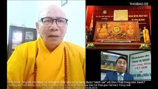 """Ông HCM có những tố chất nào xứng đáng được """"sánh vai"""" với Đức Phật trong bức tranh?"""