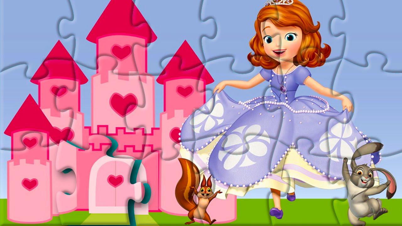 Rompecabeza de Sofia Sofia The First Puzzle Game For