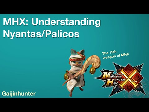 Monster Hunter Generations (MHX): Palico/Prowler (Nyanta)