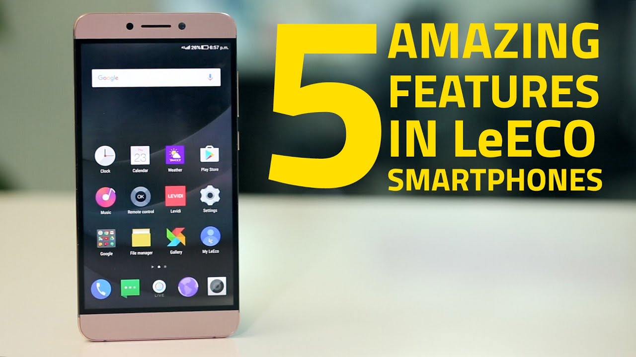 LeEco Le 2 EUI 5 8 Update Brings Bug Fixes and New Features