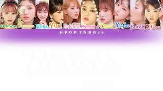 IZ*ONE (아이즈원) - VIOLETA (비올레타) || Color Coded Lyrics HAN/ENG/INDO || KPOP INDO24