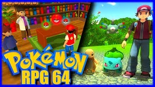 Pokemon RPG 64 | Gaming History ft. Holly Wolf