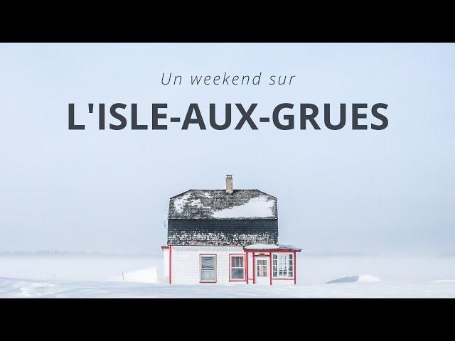 ✈️ Isle-aux-Grues en hiver : 2 jours hors du temps, au milieu du St Laurent