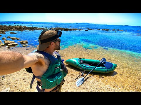 Giant Spider Crab: CATCH AND COOK | Packrafting