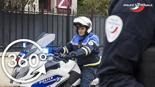 IMMERSION 360° - Les motards de la Police nationale
