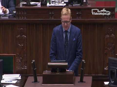 Michał Stasiński  – wystąpienie z 24 listopada 2017 r.